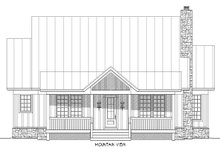 House Plan Design - Cabin Exterior - Other Elevation Plan #932-48