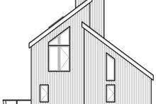 Contemporary Exterior - Rear Elevation Plan #23-2175