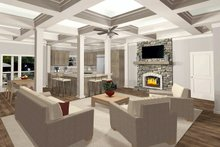 Dream House Plan - Family Room/Dining/Kitchen