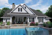 Architectural House Design - Farmhouse Exterior - Rear Elevation Plan #120-255