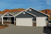 Traditional Style House Plan - 3 Beds 2 Baths 1699 Sq/Ft Plan #1060-60 Exterior - Front Elevation