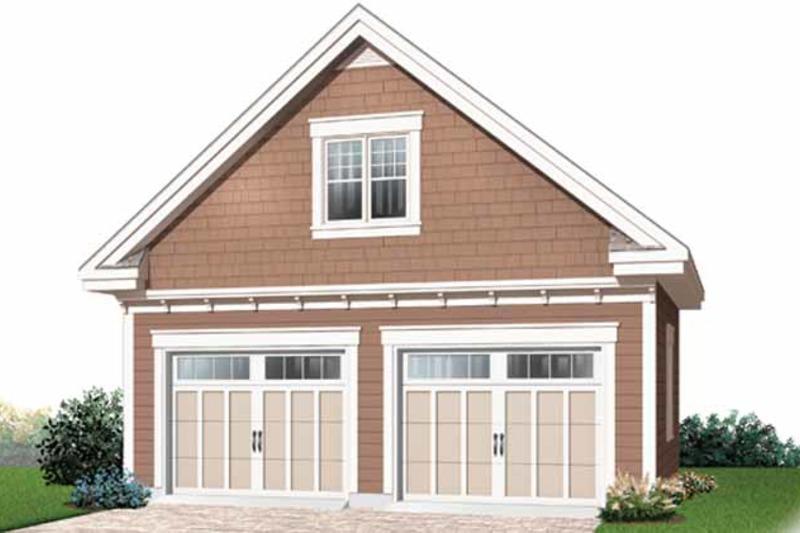Craftsman Exterior - Front Elevation Plan #23-2477 - Houseplans.com