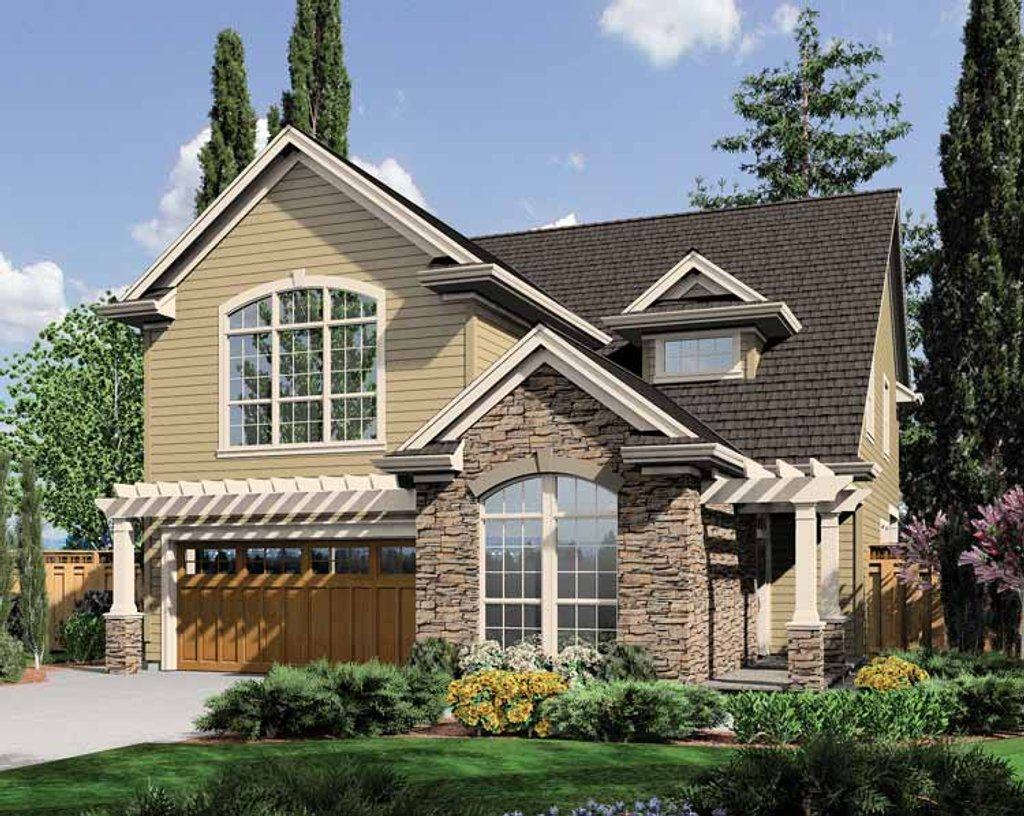 Bungalow style house plan 3 beds 2 5 baths 2468 sq ft for House plans wa