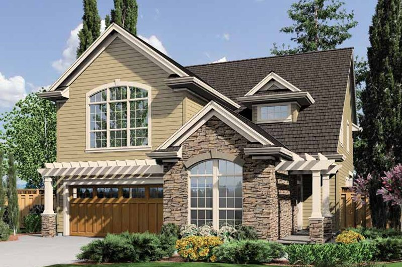 Dream House Plan - Bungalow Exterior - Front Elevation Plan #48-791