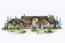 House Plan Design - Traditional Exterior - Front Elevation Plan #5-337