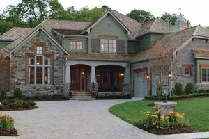 Craftsman Exterior - Front Elevation Plan #453-382