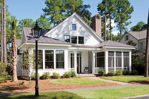 Country Exterior - Front Elevation Plan #928-251