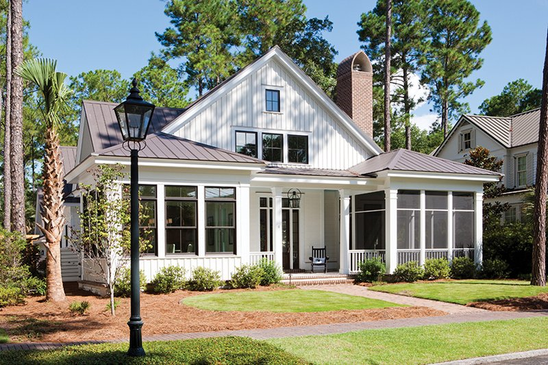 Architectural House Design - Country Exterior - Front Elevation Plan #928-251