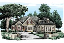 Country Exterior - Front Elevation Plan #927-304