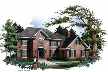 Architectural House Design - Colonial Exterior - Front Elevation Plan #952-241