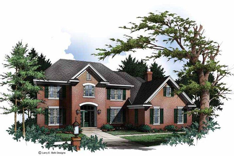 Colonial Exterior - Front Elevation Plan #952-241 - Houseplans.com