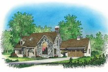 Home Plan - Country Exterior - Front Elevation Plan #1016-81