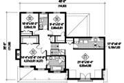 Traditional Style House Plan - 3 Beds 2 Baths 2362 Sq/Ft Plan #25-4496 Floor Plan - Upper Floor Plan