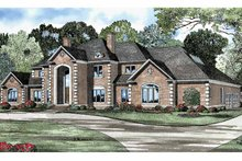 Architectural House Design - Traditional Exterior - Front Elevation Plan #17-3127