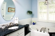 House Plan Design - Country Interior - Master Bathroom Plan #929-9