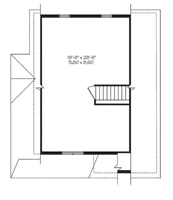 Country Floor Plan - Other Floor Plan Plan #23-2581
