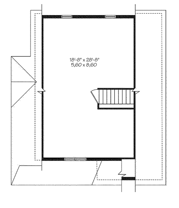 Home Plan - Country Floor Plan - Other Floor Plan #23-2581