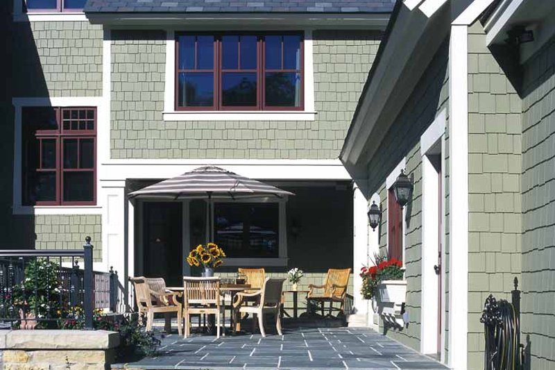 Craftsman Exterior - Outdoor Living Plan #928-19 - Houseplans.com