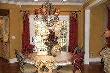 Dream House Plan - European Interior - Dining Room Plan #928-190