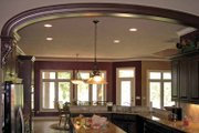 Cottage Style House Plan - 4 Beds 3.5 Baths 4626 Sq/Ft Plan #11-279 Interior - Kitchen
