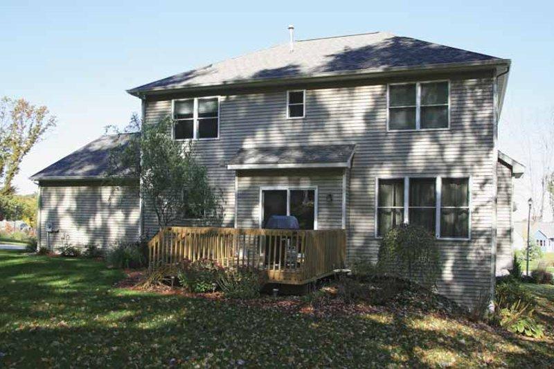 Country Exterior - Rear Elevation Plan #928-162 - Houseplans.com