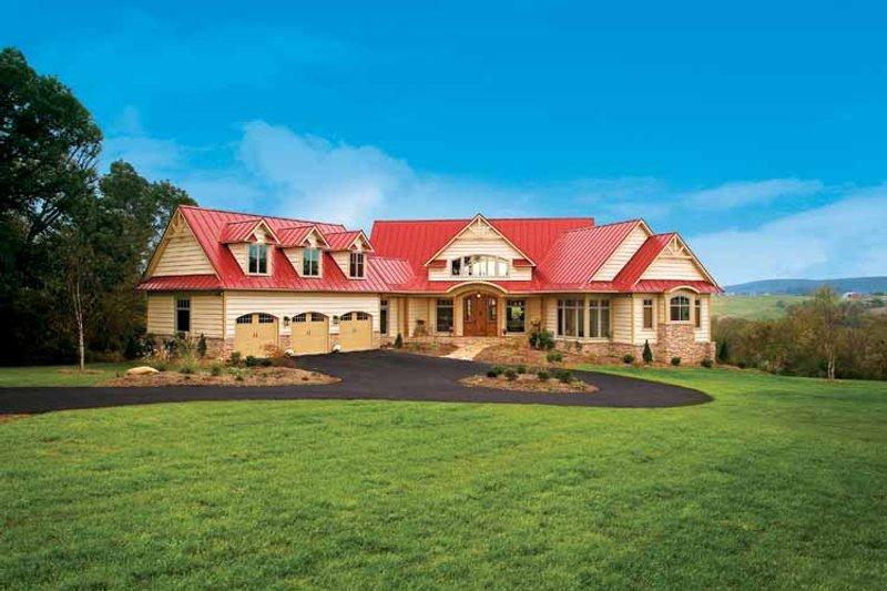 Craftsman Exterior - Front Elevation Plan #929-800 - Houseplans.com