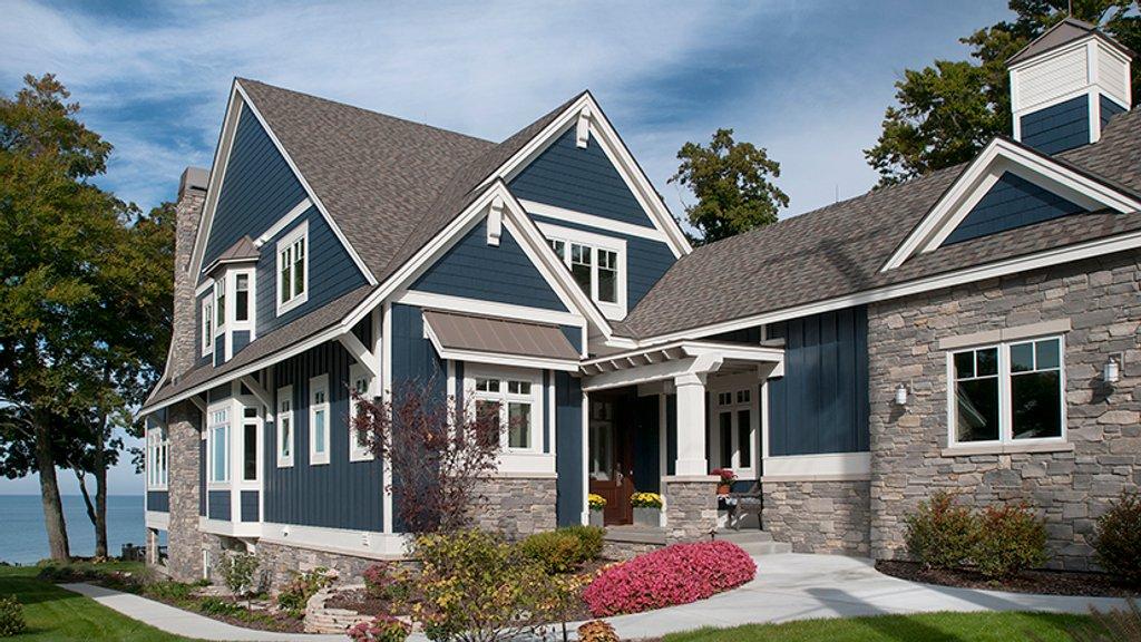 Craftsman Exterior - Front Elevation Plan #928-282