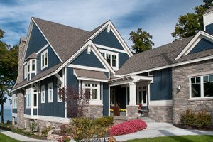 Dream House Plan - Craftsman Exterior - Front Elevation Plan #928-282