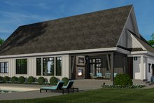 Architectural House Design - Farmhouse Exterior - Rear Elevation Plan #51-1157