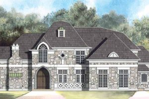 House Design - Country Exterior - Front Elevation Plan #119-401