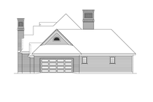 House Plan Design - Ranch Exterior - Other Elevation Plan #57-627