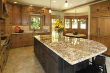 House Plan Design - Craftsman Interior - Kitchen Plan #928-30