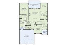Tudor Floor Plan - Main Floor Plan Plan #17-2494
