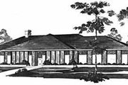 Traditional Style House Plan - 4 Beds 2 Baths 2240 Sq/Ft Plan #36-391 Exterior - Front Elevation