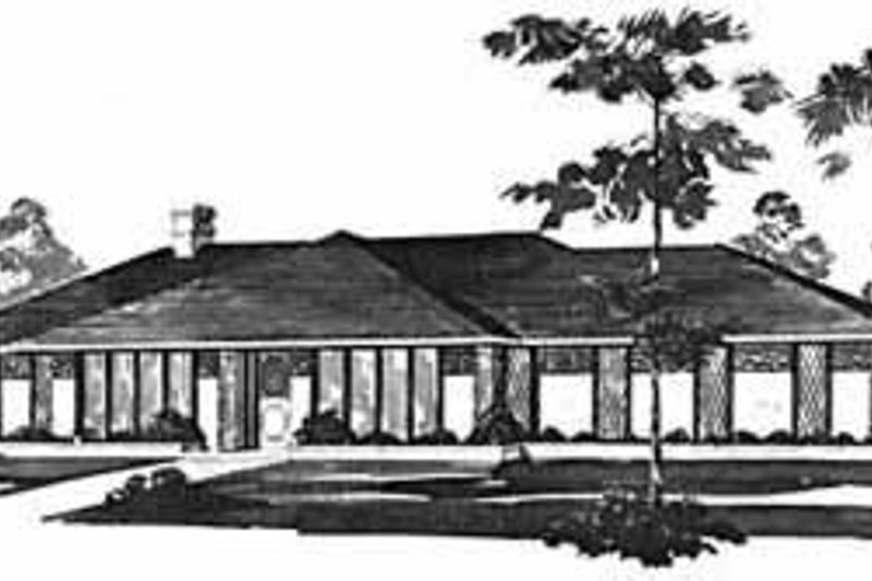 Traditional Exterior - Front Elevation Plan #36-391 - Houseplans.com