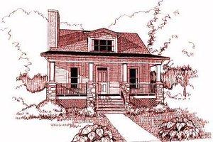 Craftsman Exterior - Front Elevation Plan #79-193