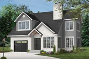 Traditional Style House Plan - 3 Beds 2.5 Baths 1909 Sq/Ft Plan #23-450 Exterior - Front Elevation