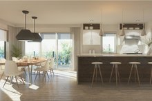 Contemporary Interior - Kitchen Plan #23-2648
