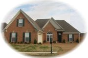 European Style House Plan - 3 Beds 2 Baths 1674 Sq/Ft Plan #81-1468 Exterior - Front Elevation