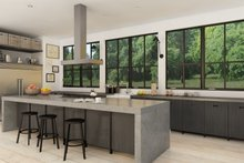 Ranch Interior - Kitchen Plan #888-9