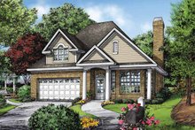 Architectural House Design - Ranch Exterior - Front Elevation Plan #929-866