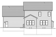 Home Plan - Traditional Exterior - Rear Elevation Plan #1010-143