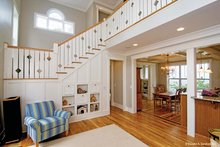 Architectural House Design - Country Interior - Family Room Plan #929-518
