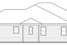 House Plan Design - Traditional Exterior - Other Elevation Plan #124-869