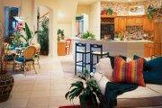 Mediterranean Style House Plan - 4 Beds 3.5 Baths 3792 Sq/Ft Plan #930-50 Interior - Kitchen
