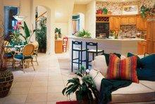 Mediterranean Interior - Kitchen Plan #930-50