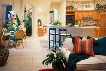 Home Plan - Mediterranean Interior - Kitchen Plan #930-50