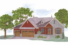 Architectural House Design - Country Exterior - Front Elevation Plan #950-4