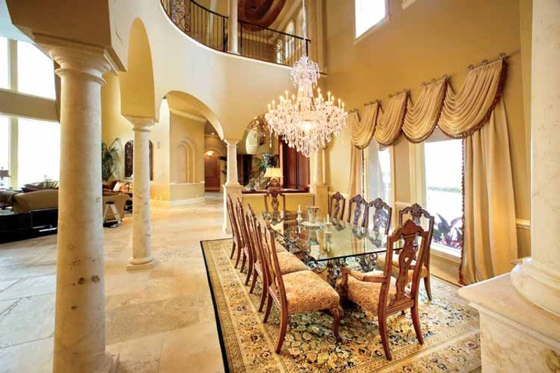 Mediterranean Interior - Dining Room Plan #1017-14 - Houseplans.com