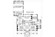Country Floor Plan - Main Floor Plan Plan #137-233